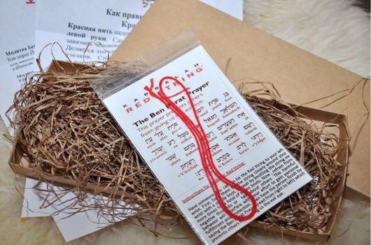 Браслеты ручной работы. Ярмарка Мастеров - ручная работа. Купить Красная нить. Handmade. Браслет ручной работы, ручная работа