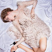 Одежда ручной работы. Ярмарка Мастеров - ручная работа Платье PAVANE (JVV ClothingBrand). Handmade.