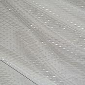 Материалы для творчества ручной работы. Ярмарка Мастеров - ручная работа Хлопок/ шёлк в мелкую крапинку. Handmade.