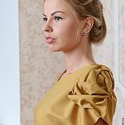 Одежда ручной работы. Ярмарка Мастеров - ручная работа Асимметричное платье. Handmade.