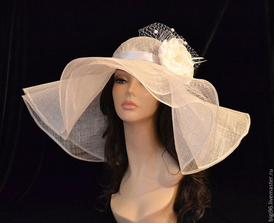 Женская шляпа с полями своими руками