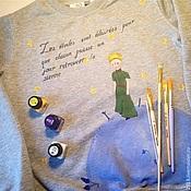 Одежда ручной работы. Ярмарка Мастеров - ручная работа Свитшот Маленький принц. Handmade.