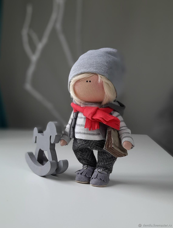 Кукла интерьерная текстильная Кукла из ткани, Большеножка, Тула,  Фото №1