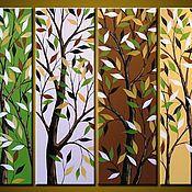 Картины и панно handmade. Livemaster - original item Autumn. Handmade.