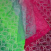 Аксессуары ручной работы. Ярмарка Мастеров - ручная работа Сады Семирамиды - авторский палантин уникальной расцветки. Handmade.