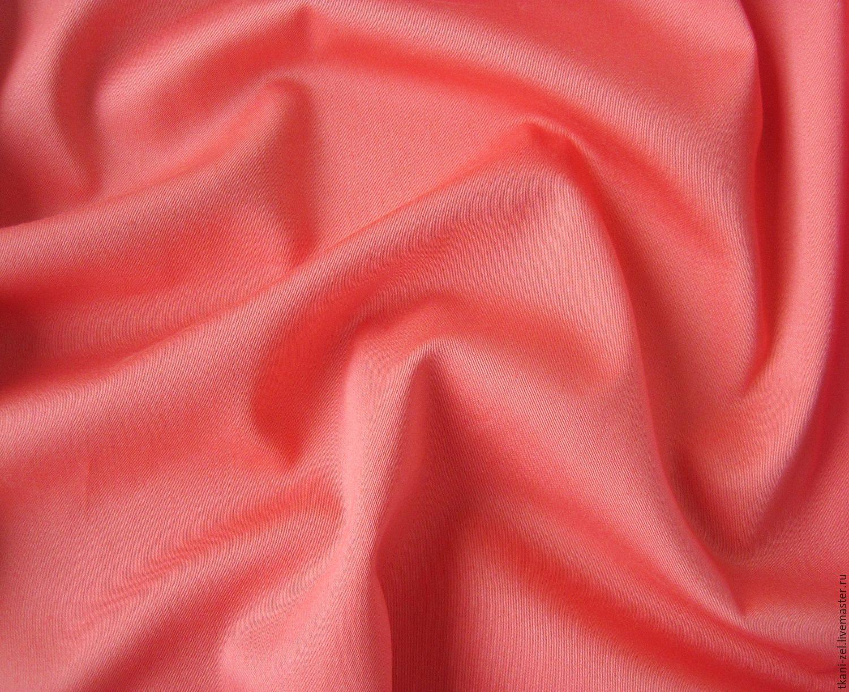 Шитье ручной работы. Ярмарка Мастеров - ручная работа. Купить В наличии 1,3м+0,9м! Ткань хлопок сатин - стрейч  плотный  арт. 041704. Handmade.