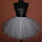 Одежда ручной работы. Ярмарка Мастеров - ручная работа Белоснежная юбка-пачка. Handmade.