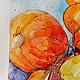 Натюрморт ручной работы. Заказать Осенние тыквы. K&ART. Ярмарка Мастеров. Осенние листья, подарок подруге, хеллоуин, акварельная бумага