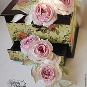 Цветы и флористика ручной работы. Ярмарка Мастеров - ручная работа Винтажные розочки. Handmade.