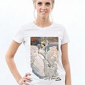 Одежда handmade. Livemaster - original item Swan Princess T-Shirt. Handmade.