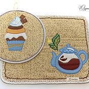 Для дома и интерьера handmade. Livemaster - original item Set of potholders -