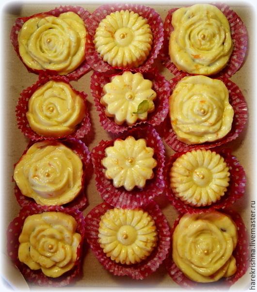 Вкусная и сладкая цветочная полянка