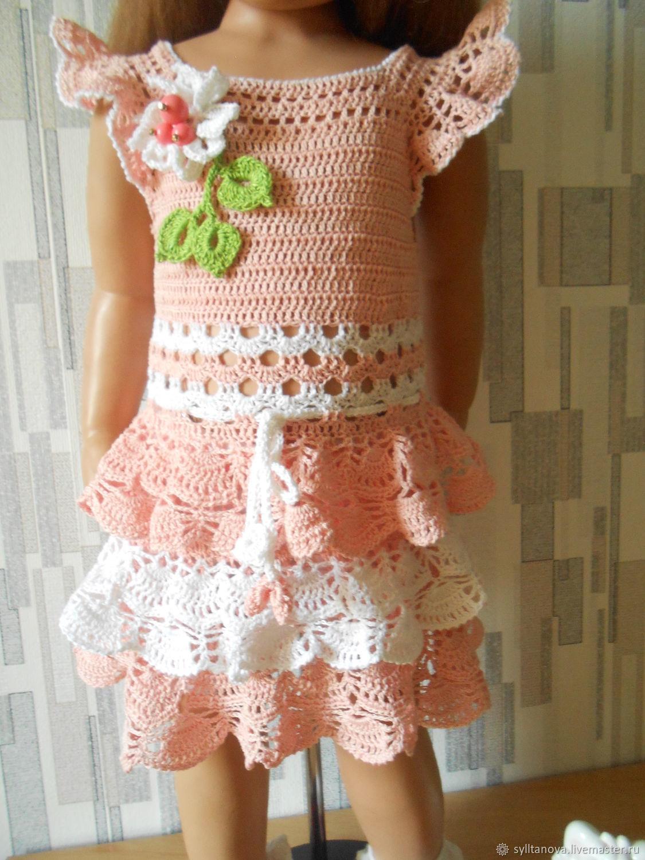 Платье детское вязанное крючком