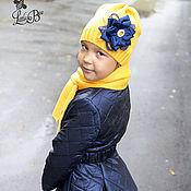Работы для детей, ручной работы. Ярмарка Мастеров - ручная работа Копия работы Стеганное пальто для девочки. Handmade.