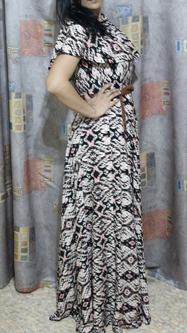 Maxi dress ikat, Dresses, Odintsovo,  Фото №1