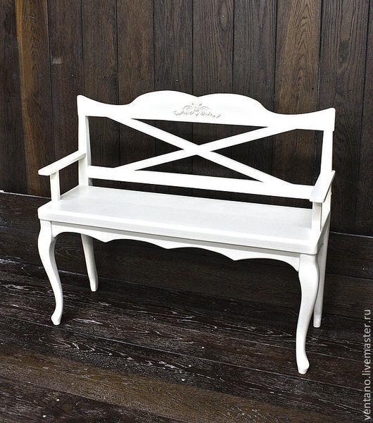 Мебель ручной работы. Ярмарка Мастеров - ручная работа. Купить Лавочка Парижанка. Handmade. Бежевый, Мебель, мебель ручной работы