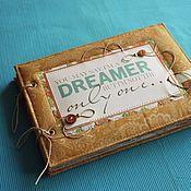 Канцелярские товары handmade. Livemaster - original item An album for romantics. Handmade.