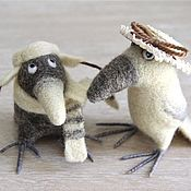 Куклы и игрушки ручной работы. Ярмарка Мастеров - ручная работа Воронья семья. Handmade.