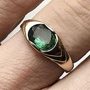 Украшения handmade. Livemaster - original item 14K Women`s gold Emerald ring (1,83 ct) handmade. Handmade.