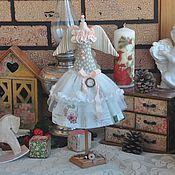 """Куклы и игрушки ручной работы. Ярмарка Мастеров - ручная работа Манекен в стиле Тильда """"Письма """". Handmade."""