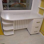 Столы ручной работы. Ярмарка Мастеров - ручная работа Письменный стол-подоконник в детскую. Handmade.