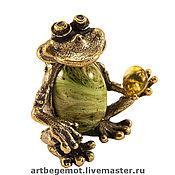 Сувениры и подарки handmade. Livemaster - original item Souvenirs with wishes: Big frog - the Gift.. Handmade.