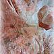 Комплекты аксессуаров ручной работы. Ярмарка Мастеров - ручная работа. Купить Комплект валяный В персиково-розовом плену. Handmade.
