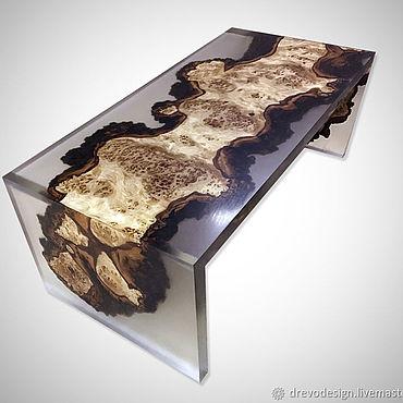 Для дома и интерьера ручной работы. Ярмарка Мастеров - ручная работа Новая модель столика из тополя. Handmade.