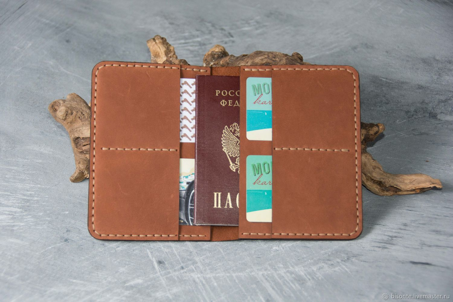 Optimum leather purse, Wallets, Moscow,  Фото №1