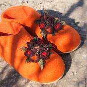 """Обувь ручной работы. Ярмарка Мастеров - ручная работа Чуньки """"Весна идет! Весне- дорогу!. Handmade."""