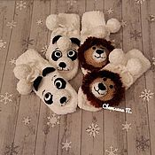 Аксессуары handmade. Livemaster - original item Suroweicki - Panda, lion (made to measure). Handmade.