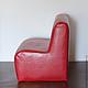 Кукольный дом ручной работы. Диван  для кукол BJD 70-80 см,  Е2, двухместный, красный. Talinata22. Интернет-магазин Ярмарка Мастеров.