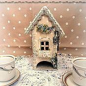 """Для дома и интерьера handmade. Livemaster - original item Чайный домик """"Домик в Провансе"""". Handmade."""