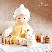 Куклы и игрушки ручной работы. Ярмарка Мастеров - ручная работа Вальдорфская кукла Солнечная Непоседа. Handmade.