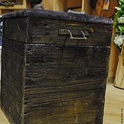 Для дома и интерьера ручной работы. Ярмарка Мастеров - ручная работа Сундук-пуфик  №18. Handmade.