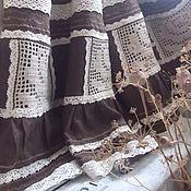 """Одежда ручной работы. Ярмарка Мастеров - ручная работа Юбка """"Увядшая роза""""(бохо,винтаж,кантри,прованс). Handmade."""