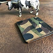 Сумки и аксессуары handmade. Livemaster - original item Mini wallet I Azzurra. Handmade.