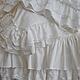 Текстиль, ковры ручной работы. Ярмарка Мастеров - ручная работа. Купить Комплект постельного белья в стиле шебби шик. Handmade.