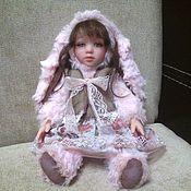 Куклы и игрушки ручной работы. Ярмарка Мастеров - ручная работа Тедди-долл Зайка. Handmade.