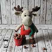 Куклы и игрушки handmade. Livemaster - original item Toy Moose. Handmade.