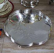 Винтаж handmade. Livemaster - original item Antique tray the original form. Handmade.