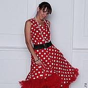 """Одежда ручной работы. Ярмарка Мастеров - ручная работа Платье в стиле 50-х  """"Прекрасное далеко"""". Handmade."""