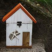Для дома и интерьера handmade. Livemaster - original item House-box for interior BEACH-HOUSE. Handmade.