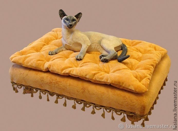 Bed on legs for a dog or cat. Available in size, Lodge, Ekaterinburg,  Фото №1