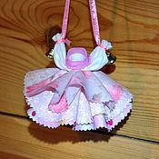 Куклы и игрушки ручной работы. Ярмарка Мастеров - ручная работа Колокольчик - куколка добрых вестей. Handmade.