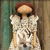 Куклы и игрушки ручной работы. Ярмарка Мастеров - ручная работа Хозяюшка. Фея чистоты и порядка. Кофейный ангел.. Handmade.