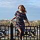 """Платья ручной работы. Ярмарка Мастеров - ручная работа. Купить Платье """"Молния"""". Handmade. Платье, вишневый, sms"""