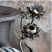 "Для дома и интерьера handmade. Livemaster - original item Jug ""Autumn Flower"". Handmade."