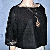 Одежда handmade. Livemaster - original item Blouse made of linen. Handmade.