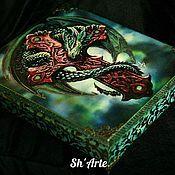 Для дома и интерьера handmade. Livemaster - original item Casket guardian Dragon treasure. Handmade.